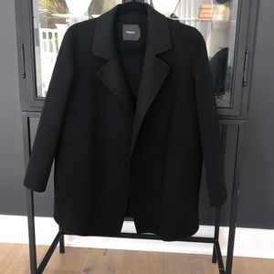 Theory wool and cashmere Clairene coat.